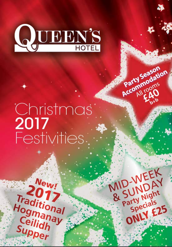 Christmas party nights in Dundee 2017