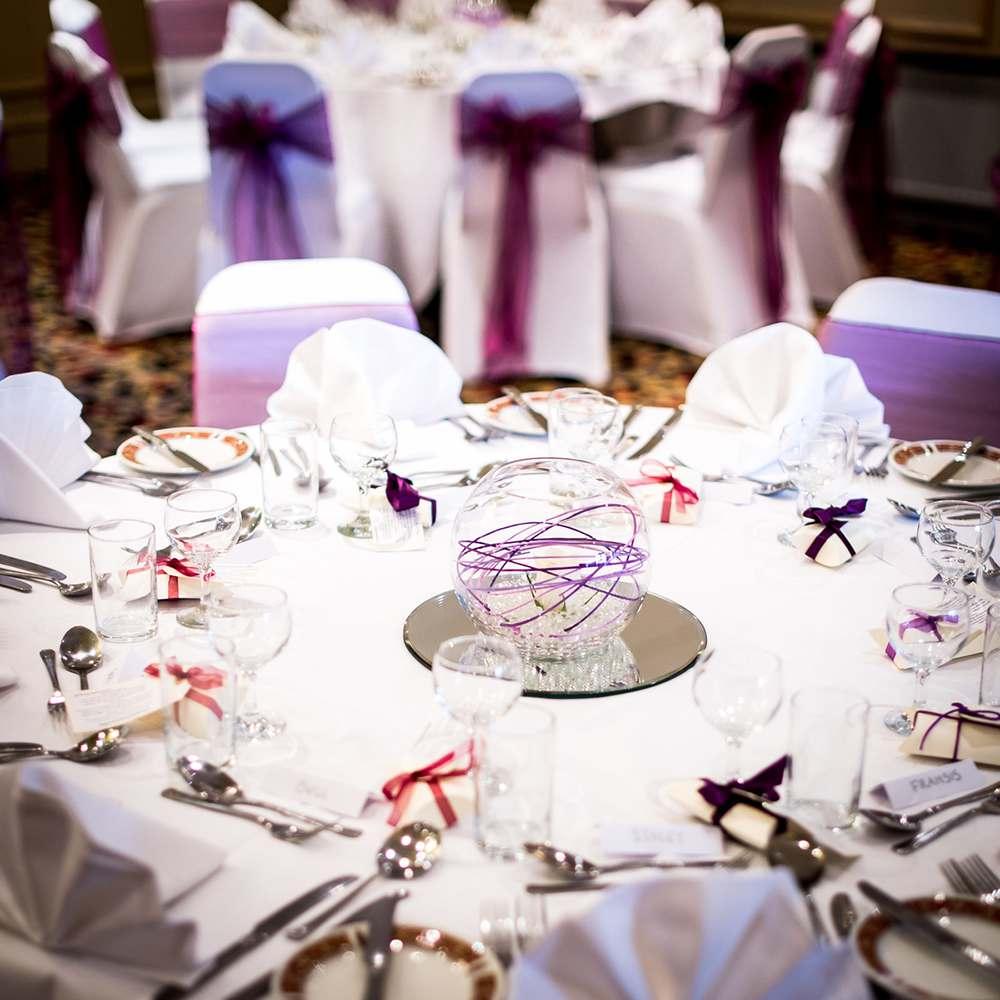 Wedding Room Center Piece