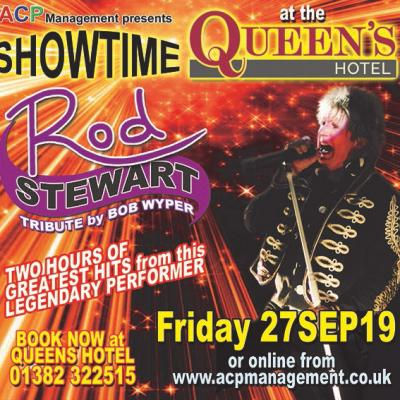 We are sailing... Bob Wyper once again brings us a fantastic evening of Rod Stewart.